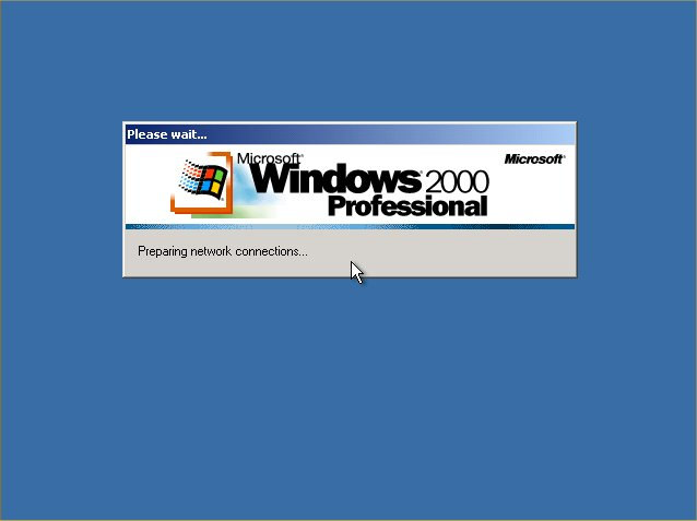 windows 2000 professional repair install